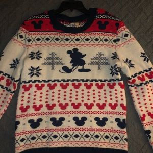 Christmas Mickey Mouse sweater